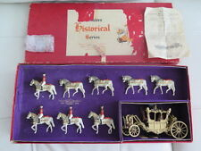 Original 1953 Britain's Historical Series 'The Stage Coach' of England Lead Toy
