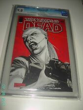WALKING DEAD #44 CGC MINT 9.8 ROBERT KIRKMAN GOVERNOR ATTACKS WHITE PAGES  2007