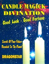 Candle Magick Divination : Good Luck - Good Fortune by Dragonstar
