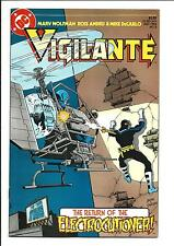 VIGILANTE # 8 (DC Comics, JULY 1984), VF/NM