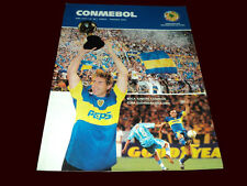 BOCA Jrs South America Champion BOCA 2 vs BOLIVAR - Conmebol # 88 Magazine 2004