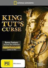 National Geographic - King Tut's Curse (DVD, 2011) Brand New & Sealed Region 4