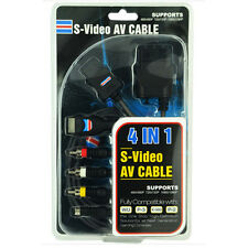 AV Cable High Quality S Video For Wii, PS2, PS3, X-360, Laptop