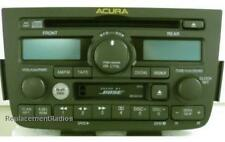Acura MDX 2001-2004 CD Cassette DVD BOSE stereo. OEM factory original A500 radio