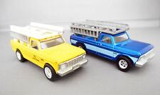 HOT WHEELS  LOT OF TWO '78 FORD F-250 TRUCKS LOOSE