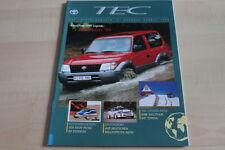 124719) Toyota Landcruiser - TEC Toyota Magazin 1996