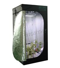 80*80*160 cm Plant Grow Tent Greenhouse 100% Reflective for Farm Home