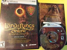 Lord of the Rings Online Shadows of Angmar PC Software