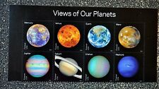 2016USA    Forever - View of Our Planets - Header Block of 8  Mint NH