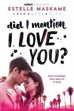 Did I Mention I Love You 1 in DIMILY Trilogy by Estelle Maska ARC ages 14 & up