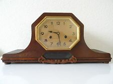 German Junghans Pfeilkreuz WW2 Shelf Mantel Mantle Clock Antique 1930s 1940s