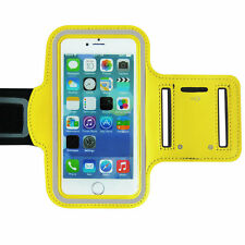 Sports Running Workout Gym Armband Arm Band Case Cover iPhone 6 6S PLUS - Yellow