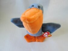 BORN July 01, 1996 Ty Beanie Babies Original Baby SCOOP The Pelican #04107 NEW!
