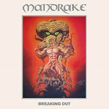 """MANDRAKE - Breaking Out (LIM.HANDN.350 YELLOW + 7""""*DEN HEAVY METAL*WITCH CROSS)"""