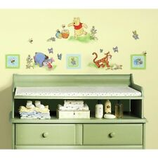 New WINNIE THE POOH 49 Wall Decals Baby Nursery Stickers Kids Bedroom RMK1630SCS