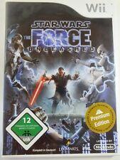!!! NINTENDO Wii SPIEL Star Wars Force unleashed, gebraucht aber GUT !!!