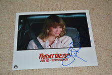 LAR PARK LINCOLN signed  Autogramm 20x25 cm In Person FREITAG DER 13. Tina