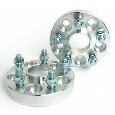 2 X Wheel Spacers 5X114.3 | 67.1 CB | 12X1.5 | 25MM 1 Inch For Mazda Mitsubishi