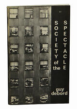 SOCIETY OF THE SPECTACLE Guy Debord ~ 1st US Edition 1970 ~ First Situationism