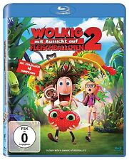 WOLKIG MIT AUSSICHT AUF FLEISCHBÄLLCHEN 2 (Blu-ray Disc) NEU+OVP Schuber