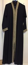 Women Abaya Kaftan Jilbab Islamic Muslim Long Dress Dubai Cocktail Maxi Dress S