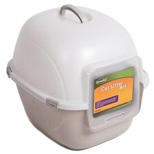 "Favorite Portable Side Enter Covered Cat Litter Box, 20"" L x 17"" W x 17"" H"