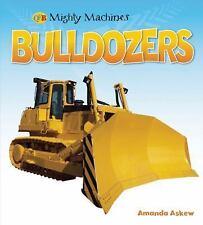 Bulldozers (Qeb Mighty Machines)-ExLibrary