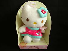 "Hello Kitty Plüsch ""Frühling"" 18 cm Stofftier-Figur Kittie Kitti Bean Bag"