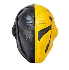 Fabric Plastic Wire Mesh Paintball Airsoft Full Face Protection Templar Mask