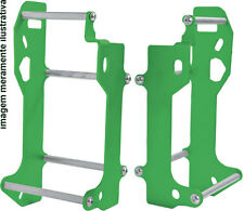 Kawasaki KX450F 2012 2013 2014 2015 Green Radiator Braces Guards