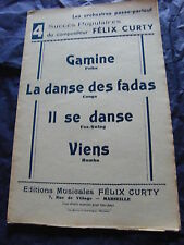 Partition Les Orchestres passe-partout de Félix Curty