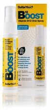 BetterYou Boost Oral B12 Energy Helps Fatigue Spray 25ml 40 Days Supply