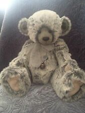 CHARLIE BEARS WILLIAM II 2009 RETIRED LIMITED EDITION BEAR