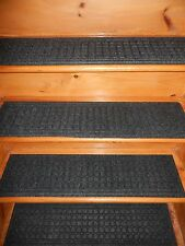 1 = STEP = 8.1/2'' x 35'' 100% Rubber Outdoor/ Indoor Stair Treads Non Slip