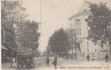 gertbrolen C P Clichy (Hauts de Seine) Bd National et la nouvelle Eglise Ex N°2