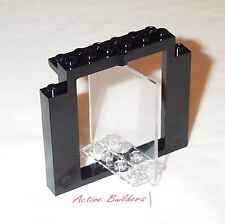 Lego Door Frame and Transparent Swivel Panel 1370 Glass