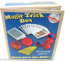 Magic Tricks Box Childrens Magic Illusions Magic Set Magic Tricks Box Kit Toy