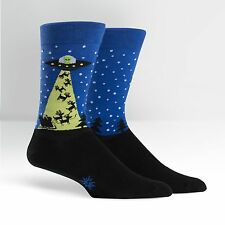 Sock It To Me Men's Crew Socks - Alien who stole Christmas