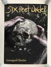 SIX FEET UNDER,GRAVEYARD CLASSICS,RARE AUTHENTIC 2001 POSTER