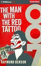 James Bond: The Man with the Red Tattoo by Raymond Benson (2015, CD, Unabridged)
