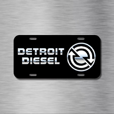 Detroit Diesel Vehicle Aluminum License Plate Truck Tag Ram Ford Chevy GMC NEW