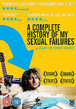 A Complete History Of My Sexual Failures (DVD, 2008)chris waitt (brand new)