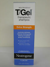 Neutrogena T-Gel Therapeutic Shampoo, Extra Strength Pack of 2