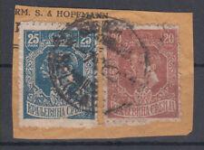 Serbia King Petar I and Aleksandar Corfu edition 1919 USED