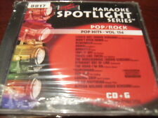 SOUND CHOICE SPOTLIGHT SERIES KARAOKE 8817 POP HITS VOL 154 CD+G SEALED