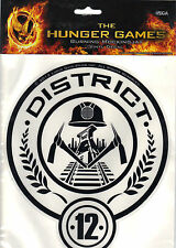 """The Hunger Games Large District 12 Seal Vinyl Decal 8.75"""" x 7.5"""" *New"""