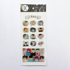 [EXO] EPOXY STICKER SET 14 Pcs K-Pop Goods