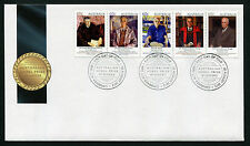 2012 Nobel Prize Winners FDC First Day Cover Stamps Australia