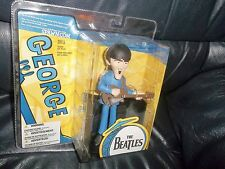 THE BEATLES McFARLANE TOY MODEL FIGURE, GEORGE  AND PART STAGE FAB! BRAND NEW