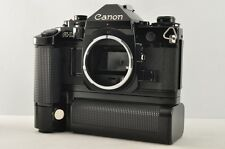 Near MINT CANON A-1 35mm SLR Film Camera Body Motor Drive MA from Japan #1848